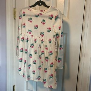NWT long sleeve girls' floral old navy dress